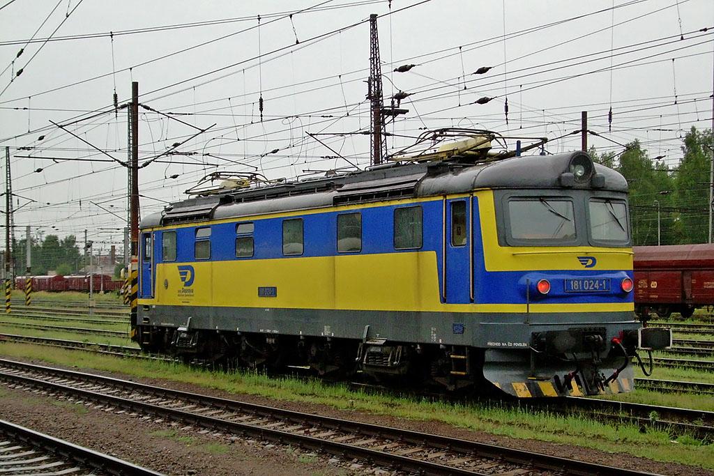 Lokomotiva 181 024-1, Česká Třebová, 3.8.2006 19:25 - Trainweb