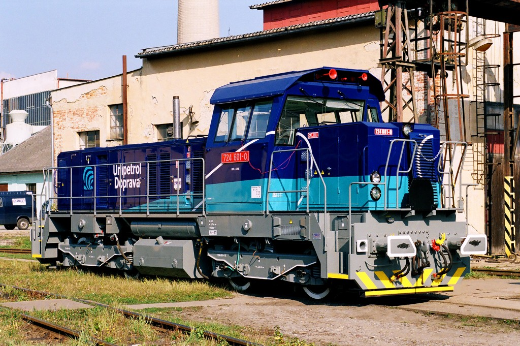 Lokomotiva 724 601-0, ČMKS Jihlava, 10.11.2005 0:00 - Trainweb