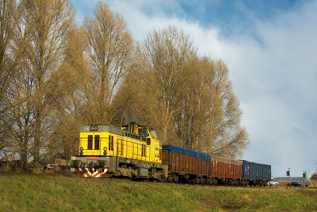 Lokomotiva 730 002-3, Mn 83140  (Česká Třebová – Choceň – Vysoké Mýto), Vysoké Mýto, 1.12.2008 9:34 - Trainweb