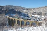 Historické vozidlo 310.0134, zvl.Os 35553  (Křižany – Liberec), Křižany – Novina, 1.12.2012 11:43 - Trainweb
