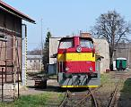 Historické vozidlo 710 090-2, depo Valašské Meziříčí, 13.4.2012 11:03 - Trainweb