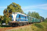 Historické vozidlo 720 058-7, Sv 11976  (Třeboň – Veselí nad Lužnicí – Tábor), Lužnice – Lomnice nad Lužnicí, 12.8.2018 18:27 - Trainweb