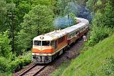 Historické vozidlo T 678.0012, Os 19771  (Lužná u Rakovníka – Kladno – Hostivice – Praha-Dejvice – Praha Masarykovo n.), Lužná u Rakovníka - Řevničov, 12.5.2012 14:39 - Trainweb