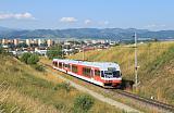 Jednotka 425 951-1, Os 8110  (Poprad-Tatry – Štrbské Pleso), Poprad-Tatry – Veľký Slavkov, 6.7.2014 8:33 - Trainweb