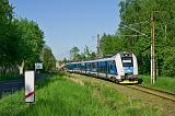 Jednotka 441 005-6, Os 6859  (Louka u Litvínova – Teplice v Čechách), Háj u Duchcova – Oldřichov u Duchcova, 18.5.2017 17:54 - Trainweb