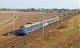 Jednotka 451 002-0, Os 9426  (Kolín – Nymburk – Lysá nad Labem – Praha), Velké Zboží – odb.Babín, 8.10.2008 14:52 - Trainweb