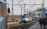Jednotka 452 007-8, Os 9120  (Strančice – Praha hl.n. – Praha-Vysočany), Praha-Horní Měcholupy, 18.3.2010 15:35 - Trainweb