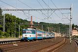 Jednotka 452 016-9, Os 9648  (Praha – Kralupy nad Vltavou), Libčice nad Vltavou, 27.6.2014 17:45 - Trainweb