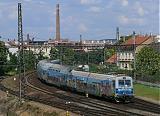 Jednotka 470 004-3, Os 9969  (Praha-Radotín – Praha hl.n.), Praha-Smíchov, 6.8.2009 14:00 - Trainweb