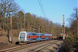 Jednotka 471 004-2, Os 8846  (Úvaly – Praha – Beroun), Praha-Klánovice, 8.3.2011 15:47 - Trainweb