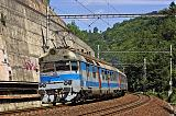 Jednotka 560 001-0, Os 4714 Brno - Letovice, Babice nad Svitavou, 8.7.2007 11:25 - Trainweb