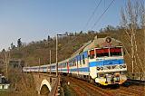 Jednotka 560 003-6, Os 4931  (Tišnov – Brno – Vranovice), Brno-Obřany, 14.3.2007 15:41 - Trainweb
