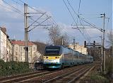 "Jednotka 682 001-3, SC 508 ""SC Pendolino""  (Ostrava – Olomouc – Pardubice – Praha-Holešovice), Praha-Libeň – Praha-Holešovice, 25.3.2007 16:32 - Trainweb"