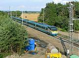 "Jednotka 682 007-0, SC 510 ""SC Pendolino""  (Ostrava – Olomouc – Pardubice – Praha), Kolín nadjezd, 1.7.2007 18:49 - Trainweb"