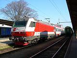Lokomotiva 1014 008-5, R 271  (Brno – Wien), Břeclav, 12.4.2007 10:25 - Trainweb