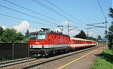 Lokomotiva 1044 005-7, REX 1790  (Linz – Wels – Neumarkt-Kallham – Schärding), Leonding, 2.7.2008 15:39 - Trainweb