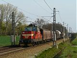 Lokomotiva 110 007-2, Pn 62123  (Břeclav – Otrokovice – Přerov), Hulín – Břest, 9.4.2009 16:39 - Trainweb