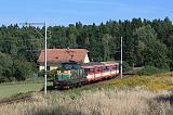 Lokomotiva 113 002-0, Os 28410  (Tábor – Bechyně), Bežerovice – Bechyně zastávka, 24.9.2014 13:50 - Trainweb