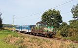 Lokomotiva 113 003-8, Os 28435 (Bechyně - Tábor), Bežerovice - Sudoměřice u Bechyně, 19.9.2020 11:10 - Trainweb