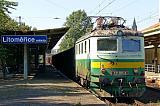 Lokomotiva 121 011-1, Pn 66371  (Počerady – Světec – Ústí nad Labem – Nymburk – Kolín – Řečany nad Labem), Litoměřice město, 11.9.2006 12:30 - Trainweb