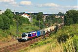 Lokomotiva 1263 003-4 + 2016 909-0, Pn 1.nsl.47780  (Brno-Maloměřice – Česká Třebová – Kolín – Nymburk – Mělník – Ústí nad Labem-Střekov – Děčín východ), odbočka Parník, 16.7.2011 16:54 - Trainweb