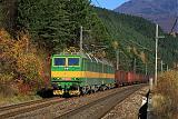 Lokomotiva 131 084-6 + 131 083-6, nákladný vlak, Krpeľany – Šútovo, 30.10.2010 11:01 - Trainweb