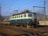 Lokomotiva 140 001-9, prestavná záťaž, Žilina, 17.11.2006 12:39 - Trainweb