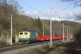 Lokomotiva 140 079-5, náklad směr Pardubice, Brandýs nad Orlicí - Choceň, 22.2.2019 15:00 - Trainweb