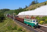 Lokomotiva 141 001-8, Pn 65700  (Kralupy nad Vltavou — Hněvice s.n.), Mlčechvosty, 19.5.2007 10:02 - Trainweb