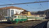 Lokomotiva 141 001-8, R 777  (Děčín — Praha Mas.n.), Ústí nad Labem hl.n., 8.12.2007 9:44 - Trainweb