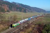 Lokomotiva 141 018-2, Sv 1306  (Olomouc – Česká Třebová – Kolín – Nymburk – Poříčany – Praha-Vršovice), Rudoltice v Čechách – Třebovice v Čechách, 13.11.2011 11:05 - Trainweb