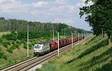 Lokomotiva 193 363-9, nákladní vlak směr Węgliniec, Malczyce – Szczedrzykowice, 27.6.2020 16:12 - Trainweb
