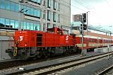 Lokomotiva 2070 035-7, Posun, Linz Hbf., 12.7.2007 11:36 - Trainweb