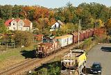 Lokomotiva 210 046-9, Mn 88120 (Jarošov nad Nežárkou - Veselí nad Lužnicí - Tábor), Soběsla - Roudná, 18.10.2019 14:57 - Trainweb