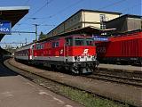 "Lokomotiva 2143 073-1, ER 2516 ""Carpatia"" (Wien - Bratislava), Bratislava hl.st., 2.5.2007 10:54 - Trainweb"