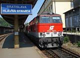 """Lokomotiva 2143 073-1, ER 2516 """"Carpatia"""" z Viedne, Bratislava hl.st., 25.5.2007 10:39 - Trainweb"""