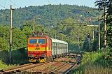 Lokomotiva 263 001-0, Os 4945 Tišnov - Brno, Česká, 18.7.2006 7:36 - Trainweb