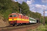 Lokomotiva 263 002-8, Os 4944  (Brno – Tišnov), Brno-Maloměřice – Brno-Lesná, 2.9.2007 11:09 - Trainweb