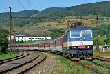 """Lokomotiva 362 008-5, R 603 """"Čingov""""  (Bratislava – Žilina – Poprad – Košice), Bratislava-Vinohrady, 24.6.2012 8:04 - Trainweb"""