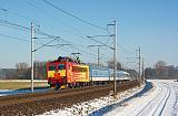 Lokomotiva 362 119-0, Záboří nad Labem – Starý Kolín, 30.12.2014 11:24 - Trainweb