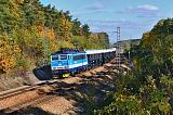Lokomotiva 363 054-8, R 13450, Cerhovice – Kařez, 14.10.2017 13:43 - Trainweb