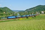Lokomotiva 363 063-9, NEx 41365  (Rostock – Dresden –  Děčín východ – Mělník – Nymburk – Kolín – Havlíčkův Brod – Brno jih), Těchlovice, 22.5.2018 11:10 - Trainweb