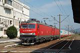 Lokomotiva 480 005-4 + 480 003-9, nákladní vlak směr Simeria, Deva, 8.7.2014 9:39 - Trainweb