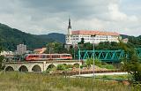 Lokomotiva 642 646-3, Os 2652  (Děčín – Česká Kamenice), Děčín hl.n., 19.6.2014 13:04 - Trainweb