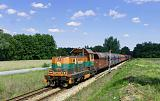 Lokomotiva 6Dg-56, nákladní vlak z Lubina do Polkowic, Owczary, 22.6.2020 15:19 - Trainweb