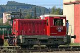 Lokomotiva 702 057-1, (výstava při příležitosti Dne železnice 2006), Česká Třebová, 23.9.2006 11:32 - Trainweb