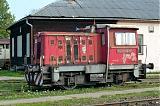 Lokomotiva 703 048-9, odstavena, Olomouc DKV, 17.9.2006 14:34 - Trainweb