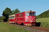 Lokomotiva 705 917-3, Os 20603  (Třemešná ve Slezsku – Osoblaha), Třemešná ve Slezsku – Liptaň, 18.5.2012 6:57 - Trainweb