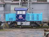 Lokomotiva 709 001-2, CZ LOKO Česká Třebová, 17.3.2007 11:47 - Trainweb