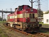 Lokomotiva 730 007-2, posun, Ústí nad Labem, 13.10.2006 13:01 - Trainweb